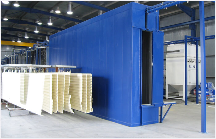 Curing Ovens powder coating
