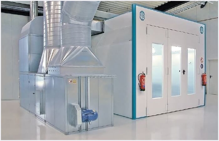 Car Spray Booths wet coating