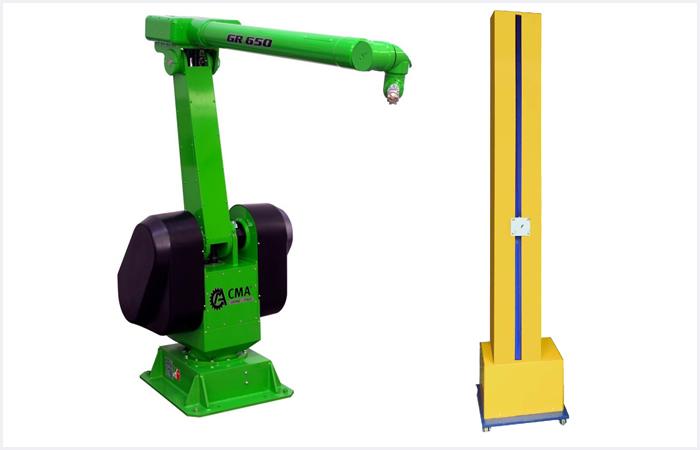 Reciprocators - Robots wet coating