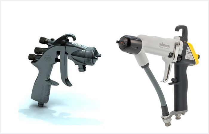 Spray Guns wet coating