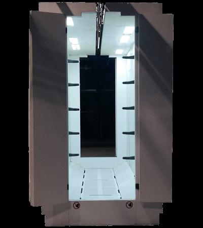PVC Antistatic powder coating spray booth FPC 4000