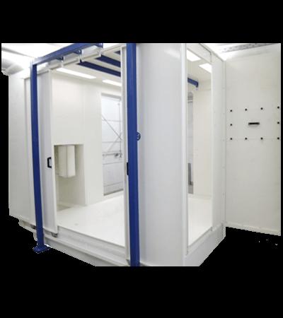 Καμπίνα Ηλεκτροστατικής βαφής PCB-S2500-8