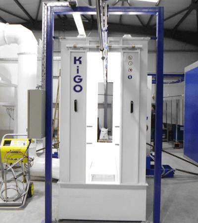 Καμπίνα Ηλεκτροστατικής βαφής KIGO PCS-3500