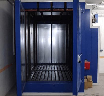 Ηλεκτρικός Φούρνος Ηλεκτροστατικής Βαφής  PCOR-4000-2
