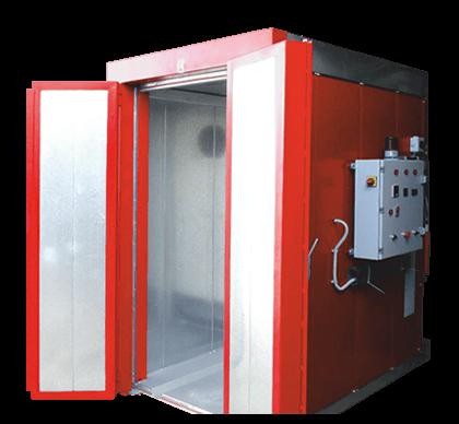 Ηλεκτρικός Φούρνος Ηλεκτροστατικής Βαφής EL PCO-1500-1