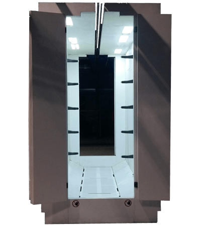 PVC Antistatic powder coating spray booth FPC 4000