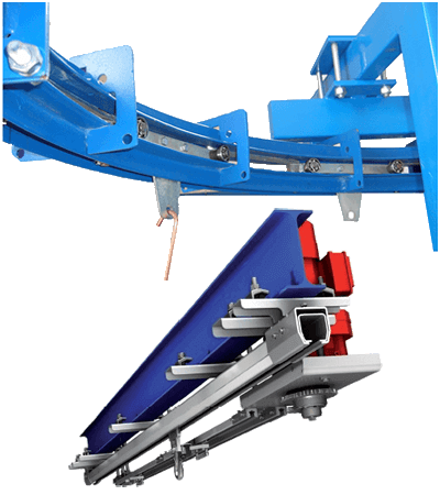 AUTOMATIC CONVEYOR SYSTEM FOR AERIAL TRANSPORTATION
