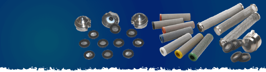 AIRLESS FILTERS FOR PUMPS AND SPRAY GUNS